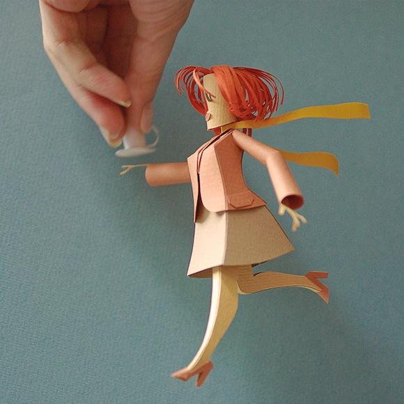 art du pliage papier