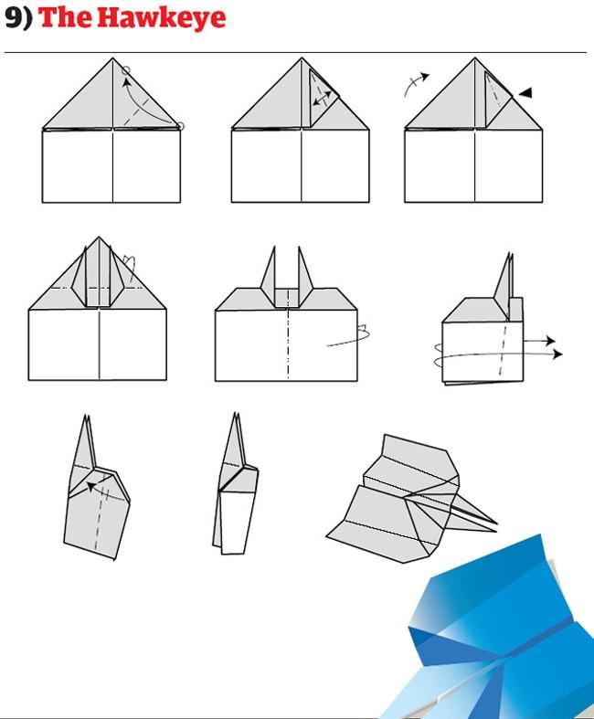 avion pliage papier