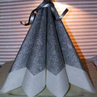 Isambourg pliage serviette
