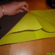 Pliage 2 serviettes papier