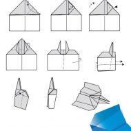 Pliage avions en papier