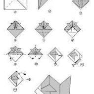 Pliage de papier facile