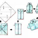 Pliage de serviette en papier chemise