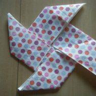 Pliage de serviette en papier facile et rapide