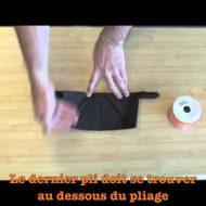 Pliage de serviette facile youtube