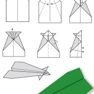 Pliage papier avion
