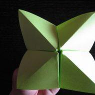 Pliage papier cocotte