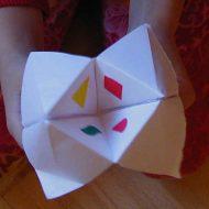Pliage papier pour enfant