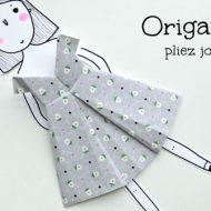 Origami robe facile
