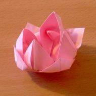 Origami serviette en papier facile