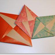 Pliage lettre origami