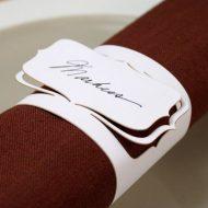 Rond de serviette papier