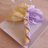 Idée pliage de serviette en papier