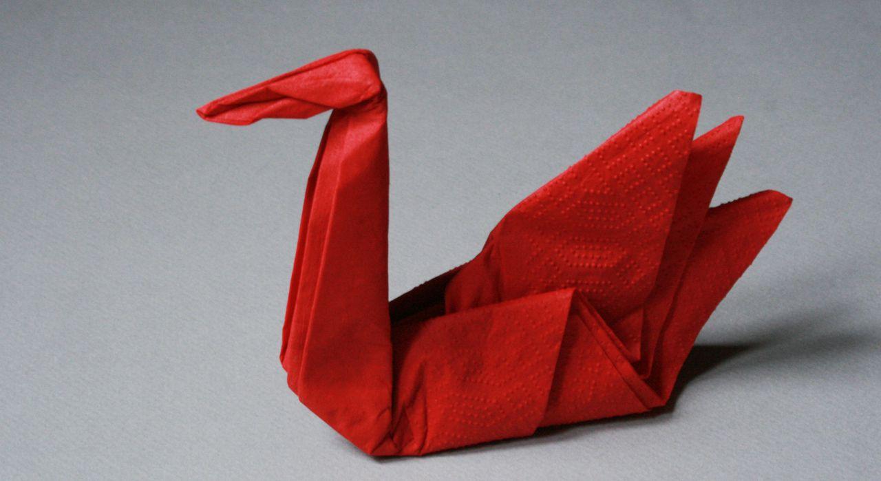 Pliage de serviette en papier facile pour noel