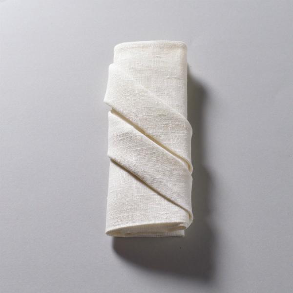 Pliage des serviettes en tissu