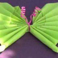 Pliage serviette papillon video